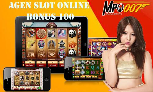 Agen Slot Online Bonus 100
